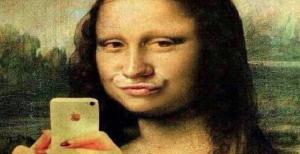 selfie-da-monalisa