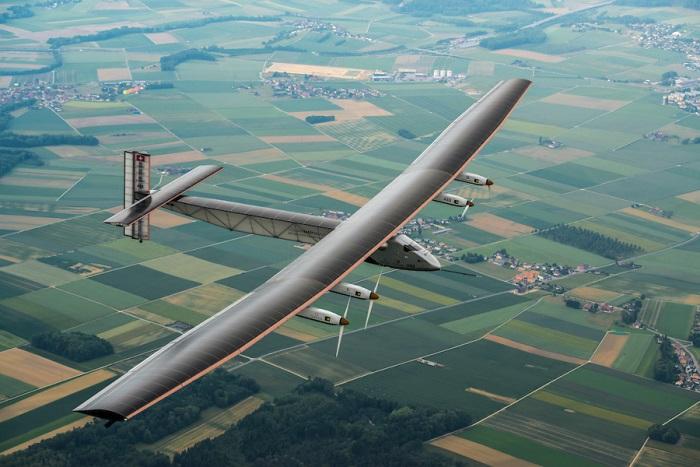 Solar Impulse 2's first flight
