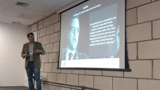 Cássio Politi, diretor de Content Marketing da Tracto