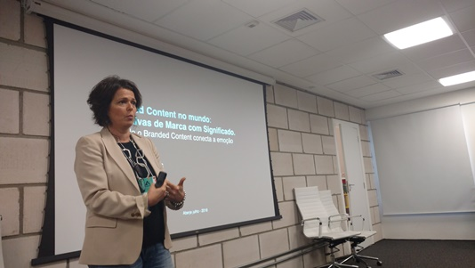 Patrícia Weiss, consultora estratégica de Branded Entertainment & Content e Brand Narratives