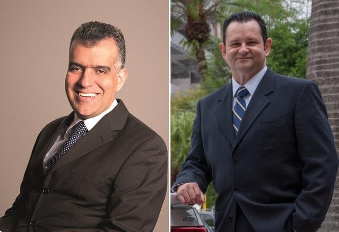 Paulo Henrique Soares (Vale) e Nelson Silveira (GM)