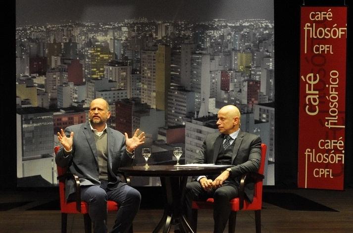 Clóvis de Barros Filho e Leandro Karnal debatem no Café Filosófico CPFL