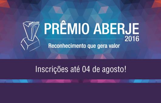 Inscrições Prêmio Aberje 2016