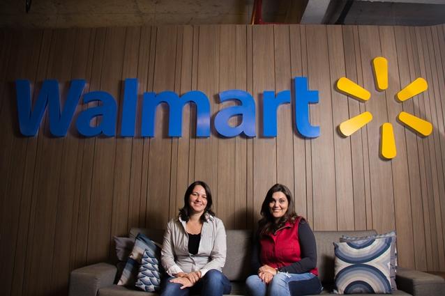 Daniela Vieira e Cleide Oliveira, do Walmart