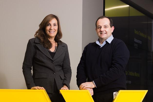 Elisa Carra e Luiz Sene da Ernst & Young