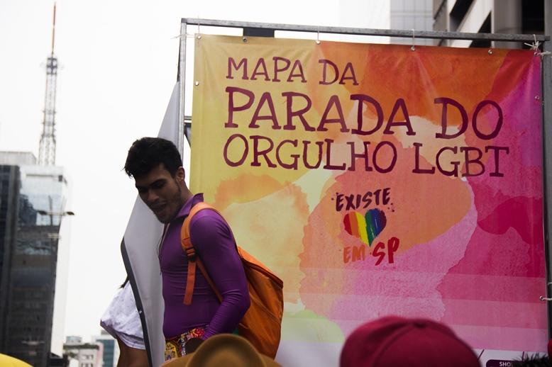 Parada LGBT de São Paulo, em junho de 2016