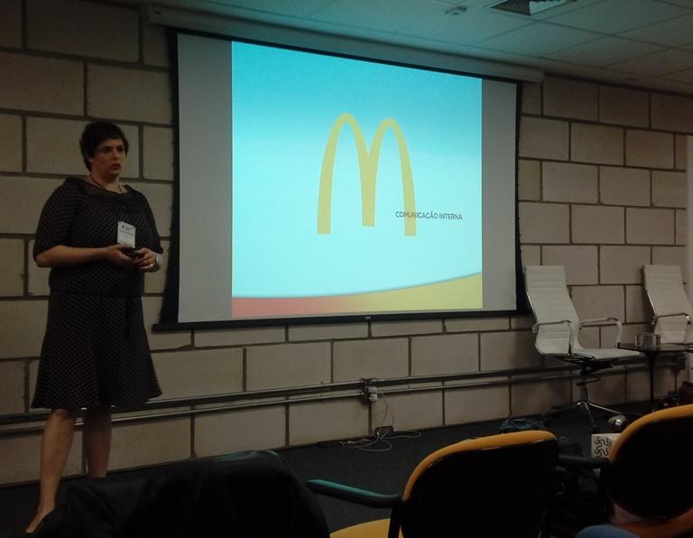 Alessandra Ber, gerente de Comunicação Corporativa do McDonald's