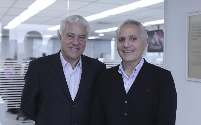 João Rodarte e Manuk Masseredjian (Foto: Andre Stephan/Divulgação CDN)