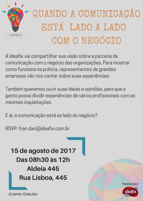 Convite INSPIRAFIX