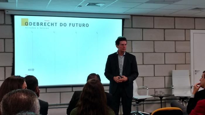 Marcelo Lyra, responsável por Comunicação e Sustentabilidade na Odebrecht