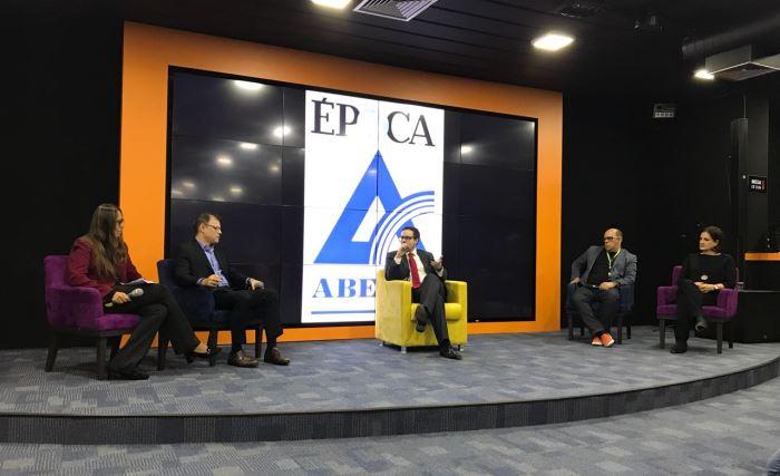 Segundo encontro do Ciclo de Debates Aberje-Época, em São Paulo, no dia 17 de Outubro