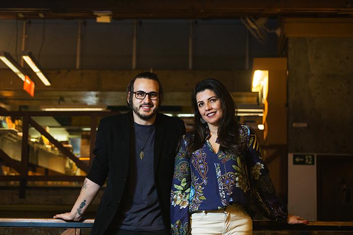 Qiah Salla e Patrícia Zimermann, sócios da Genuí