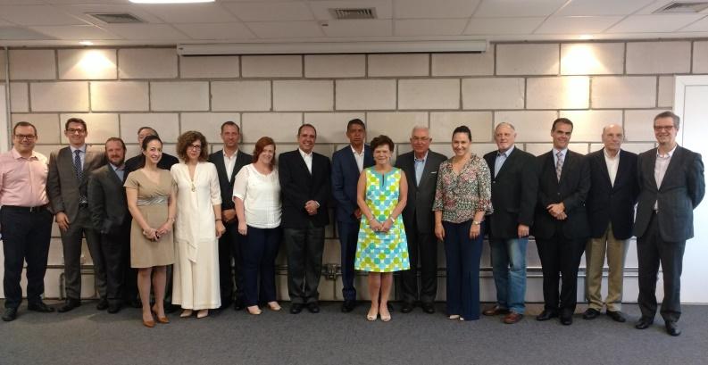 Participantes do Lidercom CEOs no último encontro do ano com José