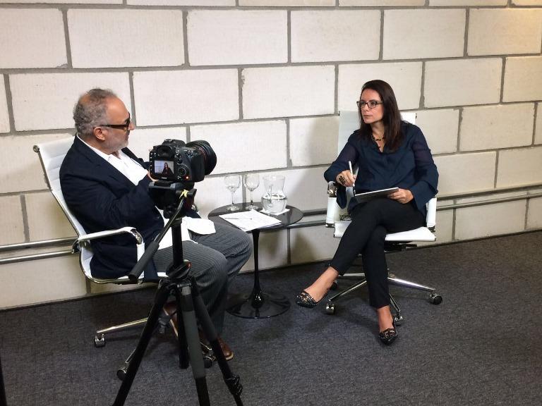 Antonietta e Paulo Nassar, diretor presidente da Aberje