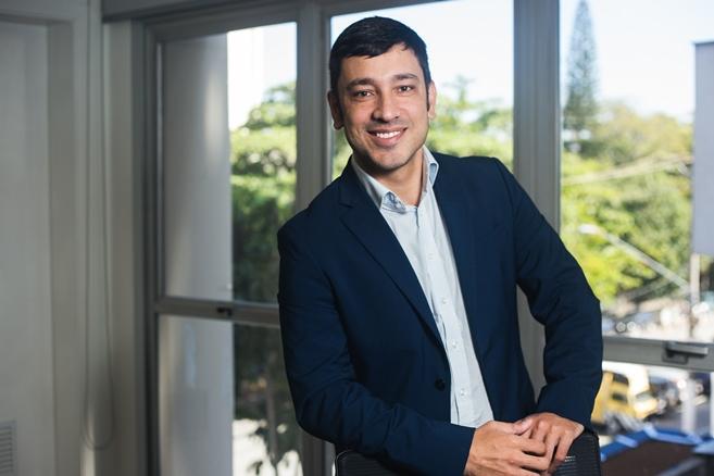 Greyke Gabriel Oliveira, gerente de Comunicação Corporativa da Libbs