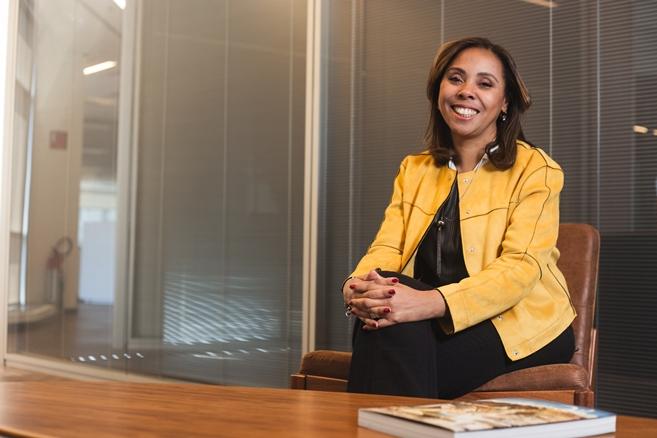 Solange Guimarães, superintendente de Comunicação