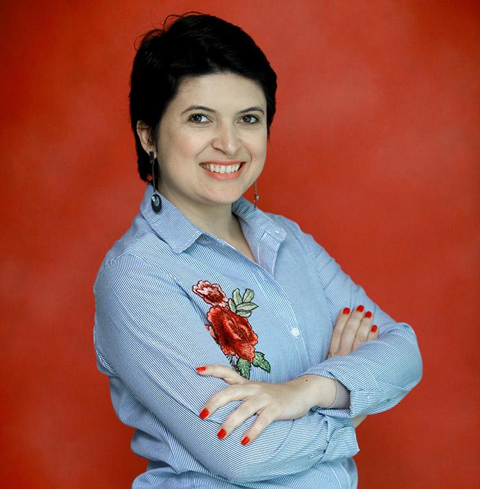 Priscila Santana, gerente do Departamento de Comunicação da Ajinomoto do Brasil