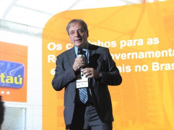 Cícero Marcus de Araújo, diretor de Relações Institucionais, Comunicação Corporativa e Sustentabilidade do Itaú (Imagem: Larissa Carolina/Jornalismo Júnior)